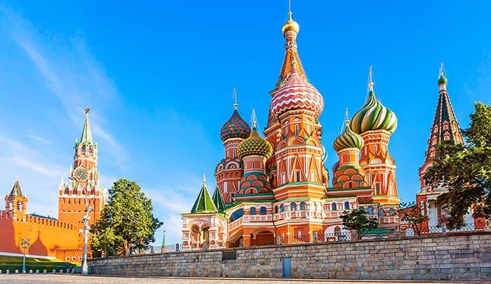 Μόσχα, Αγία Πετρούπολη – 8ημ.