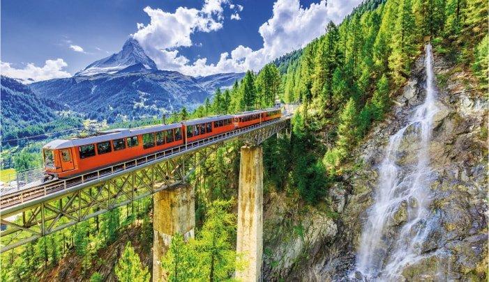 Πανόραμα Ελβετίας, Αλπικό Τρένο – 5ημ.